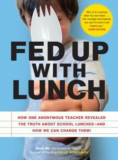 teacher- blogger who ate kids' school lunch for 1 year - might have to read this.  I'm a hot luncher myself.