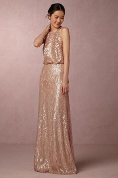 4c1ef25c2502 Anthropologie Sequined Alana Wedding Guest Dress Part of a special  collection from BHLDN.