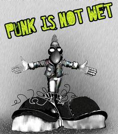 Punk is not wet by nFalPaz.deviantart.com on @deviantART