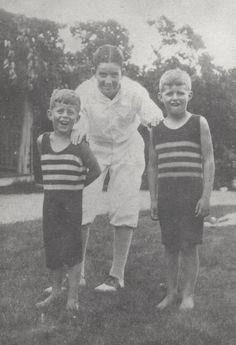 Jack and Joe Jr as kids. Rose dressed her kids alike.