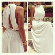 Yes to the dress! Sexy Dresses, Cute Dresses, Beautiful Dresses, Prom Dresses, Formal Dresses, Wedding Dresses, Dress Prom, Super Moda, Greek Dress