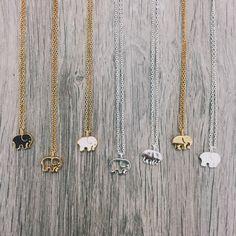 "Gold Plated Sterling Silver Ella Outline Pendant 13-16"" Adjustable Gold Plated Sterling Silver Chain"