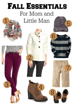 Fall Essentials | Must Have Clothing Picks | Wardrobe Essentials | Mom and Toddler Boy | All The Pretty Things Blog