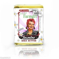 Jasmine Shea Butter Vegan Friendly All Natural Large Bar Soap by Filthy Farmgirl
