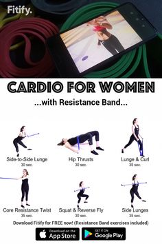 Fat Burning Workout using Resistance Band BEST EXERCISES Cardio Fat Burning using Resistance Band Session consisting of lowintensity aerobic exercises Should be perfo. Resistance Band Training, Resistance Band Exercises, Aerobic Exercises, Resistance Workout, Interval Training, Mini Band, Muscular Strength, Fat Burning Cardio, Aerobics Workout