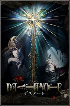 "Death Note | Yagami Light is an ace student with great prospects, who's bored out of his mind. One day he finds the ""Death Note"": a notebook from the realm of the Death Gods, with the power to kill people in any way he desires. With the Death Note in hand, Light decides to create his perfect world, without crime or criminals. However, when criminals start dropping dead one by one, the authorites send the legendary detective L to track down the killer..."