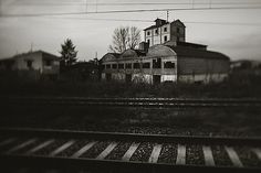 The Old Factory On The Railway by Alessandro Chiarini
