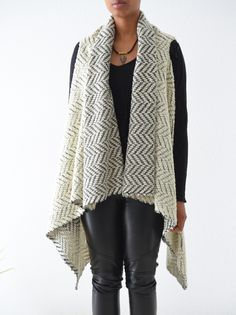 SOYL Story.Of.Your.Life: DIY: Wool Poncho Vest