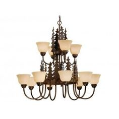 Check out the Vaxcel Yosemite 12 Light Up Lighting Chandelier in Burnished Bronze Rustic Chandelier, Chandelier Shades, Chandelier Pendant Lights, Chandeliers, Bronze Chandelier, Rustic Lamps, Chandelier Ideas, Ceiling Pendant, Cabin Lighting
