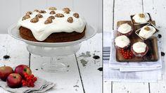 Ukens matblogg: Gulrotkake med glasur på tre måter