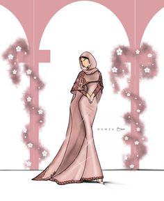 @hamzaokai #FashionIllustrations |Be Inspirational ❥|Mz. Manerz: Being well dressed is a beautiful form of confidence, happiness & politeness