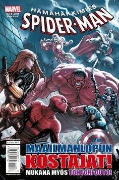 Hämähäkkimies - Spider-Man nro 8/2014. #sarjakuva #sarjakuvalehti #sarjis #egmont #marvel