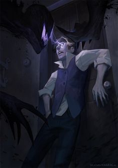 """vicious-mongrel: """" Violet Horror illustration for Totentanz Support me on Patreon, i'm making dark things. Fantasy Creatures, Mythical Creatures, Arte Obscura, Minecraft Art, Wow Art, Creepy Art, Art Et Illustration, Dark Fantasy Art, Horror Art"""
