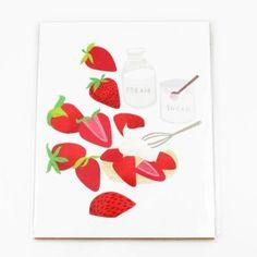 Strawberry Shortcake Print $20. www.mooreaseal.com
