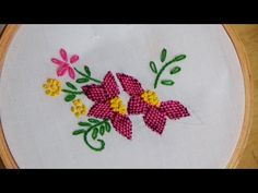 This video channel contains lot of Hand Embroidery work designs & paper craft designs.Today we know the simple & easiest hand Embroidery work is Lazy daisy s. Basic Embroidery Stitches, Hand Embroidery Flowers, Hand Embroidery Tutorial, Silk Ribbon Embroidery, Hand Embroidery Designs, Embroidery Techniques, Embroidery Applique, Cross Stitch Embroidery, Embroidery Patterns