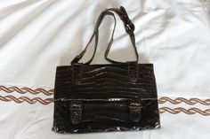 early 50s real crocodile bag