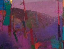 Brian Rutenberg 'Fringetree', 2013-14, oil on linen, 45 x 58 inches