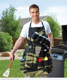 funny grill sergaent bbq apron