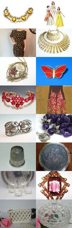 WEDNESDAY VOGUETEAM NEW FINDS #voguet by Fabien on Etsy, www.PeriodElegance.etsy.com