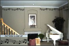 Vinyl Wall Lettering Decorative Musical Accent by WallsThatTalk, $29.50