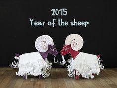 sheep/ram/goat papertoy (multi-page)