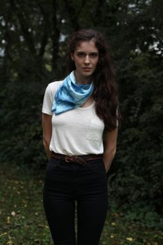 Bubbles Scarf    MADE TO ORDER   
