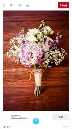 Love this Bouquet with Plum