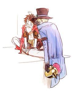 Sabo x Monkey D. Luffy