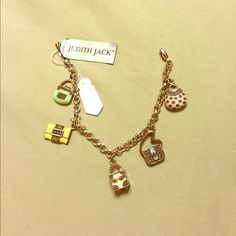 Authentic Judith Jack Charm Bracelet Beautiful Piece New With Tags Make Me An Offer