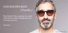 Surprise Dad with the best pair of sunglasses he's laid eyes on