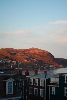 Sunset on Signal Hill
