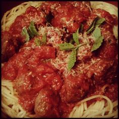 Italian meatballs and spagetti.....its whats for dinner tonight