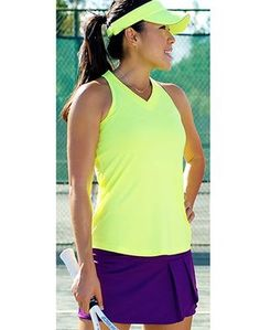 4bb1ce13023 CLEARANCE JoFit Ladies   Plus Size Tennis Outfits (Tank   Skort) - Tahiti (