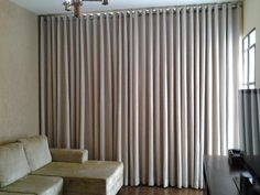 All Decor Boutique Cortina Wave, Lounge Curtains, Dining Room Inspiration, Curtain Designs, Window Treatments, My House, Blinds, Sweet Home, Art Deco