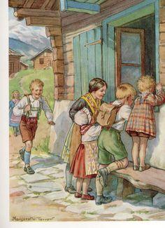Margaret Tarrant , Johann  the Woodcarver