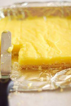 Gluten Free Lemon Pie Bars