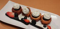 Jemné vdolky s povidly a vanilkovým Chantilly