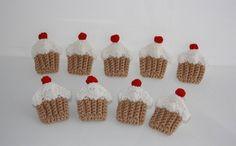 Tutorial Cupcake Uncinetto https://www.passiondiy.com/tutorial-cupcake-uncinetto/ Uno schema per realizzare splendidi #cupcakes all'uncinetto!
