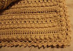 crochet aran afghan pattern | Raediant Crochet: Wedding Aran Afghan