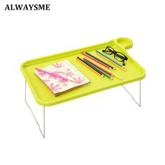 Portable Foldable Folding Laptop Table Notebook Desk Sofa Bed Laptop Table For Eating Studying On Sofa Bed With Folding Legs D Durable Service Office Furniture