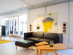 Experience the sound of the Copenhagen On Wall speaker at the Design Werck Showroom
