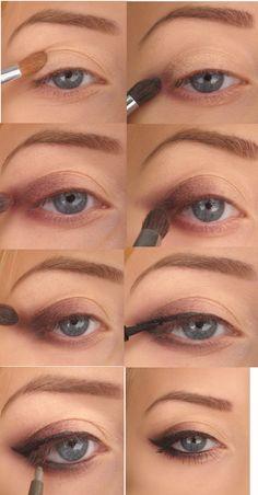 makeup magic: MY LOOK - Black Cat Eye