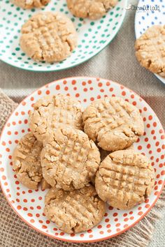 Peanut Butter Oatmeal Cookies (Gluten-Free, Dairy-Free) - Chew Out Loud