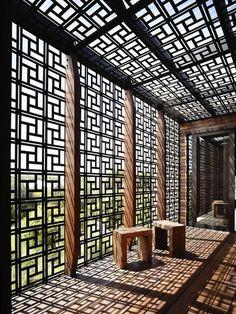 An Oriental Screen for An Australian Getaway