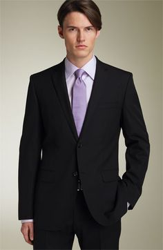 Chicago Classic Fit Solid Wool Suit | Interview attire, Suit ...
