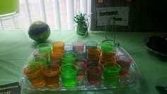Ninja Turtles Party ( Green Jelly )