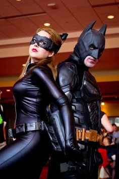 Dark Knight Rises Catwoman and Batman Cosplay - Imgur