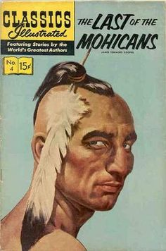 Classics Illustrated - my preferred format when reading classic literature for the first time. Vintage Comic Books, Vintage Comics, Classic Literature, Classic Books, Comic Book Characters, Comic Character, Caricatures, Westerns, Old Movie Posters