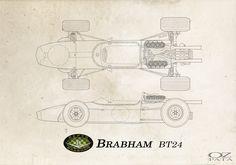 Brabham BT24 1967