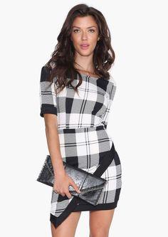 Plaid Envelope Dress | Shop for Plaid Envelope Dress Online